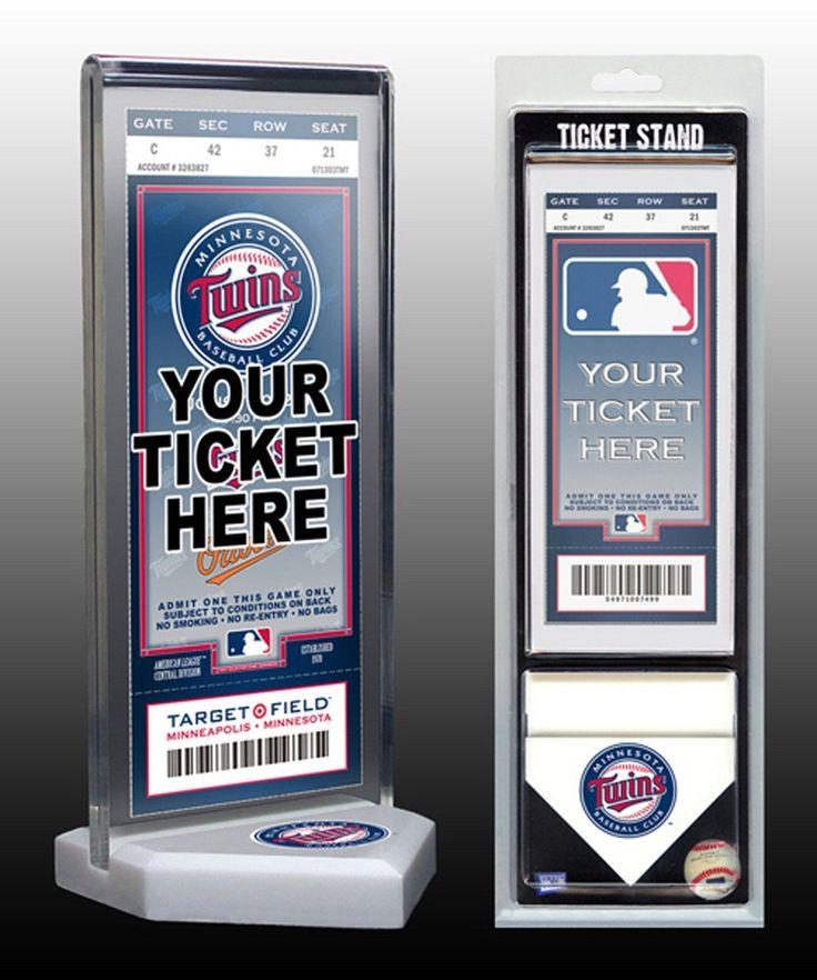 That's My Ticket Minnesota Twins Ticket Stand