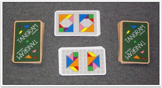 Tangram Snap Card Game - Free Printables! - http://www.tangram-channel.com