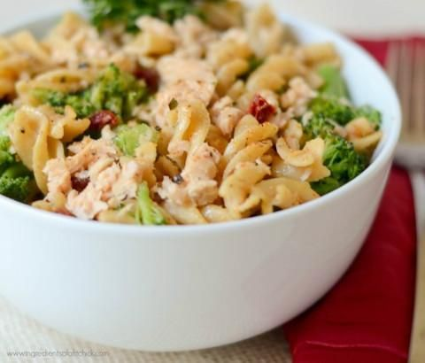 This recipe uses Coho Salmon as the perfect topping for a Sundried tomato pasta dish. This is a great recipe that is both filling and healthy, give it a shot!