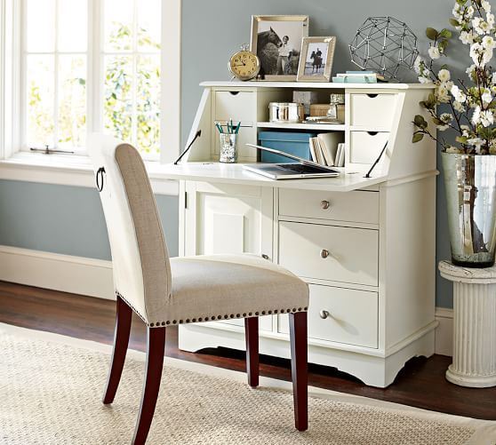 We do love a desk with great storage graham small space secretary home office organization - Secretary desk for small spaces property ...