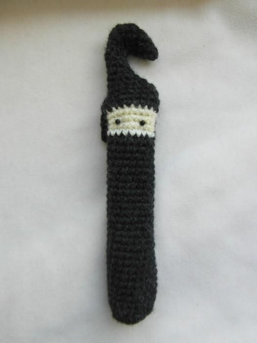 crochet ninja hook case + 9 other free #crochet hook case patterns