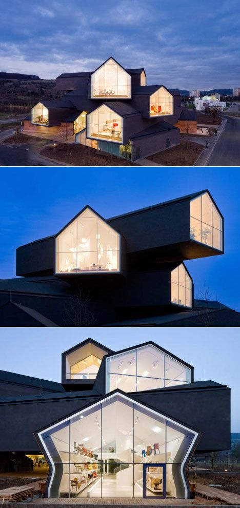 VITRAHAUS, SHOWROOM / Location: Weil am Rhein, Germany / Architect: Herzog & de Meuron