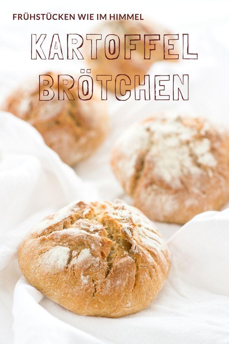 Brot Rezept - Leckere Kartoffel Brötchen, die einfach zu backen sind und sehr saftig sind.Das Rezept ist vom Foodblog herzelieb  #foodblogger #deutschland #germany
