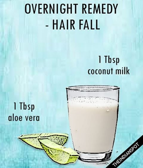 """144 Likes, 2 Comments - THEINDIANSPOT (@theindianspotcom) on Instagram: """"Take some coconut milk along with aloe vera gel and slowly massage it into your scalp and soak the…"""""""