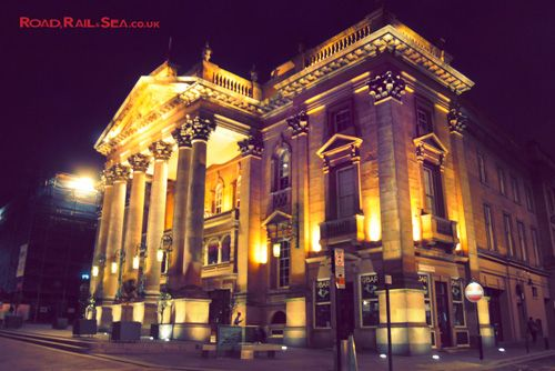 Theatre Royal, Newcastle, United Kingdom. Travel to Newcastle in just 3 hours by train or stay overnight before catching the ferry to Amsterdam with DFDS.