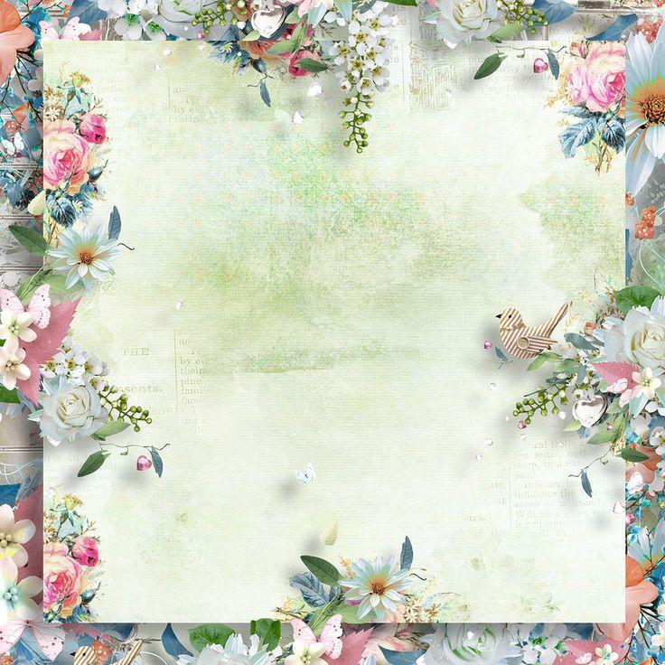 Картинки, картинка скрапбукинг весна