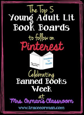 Young adult literature pinterest books