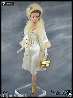 tenue outfit + accessoires barbie silkstone vintage et fashion royalty #762