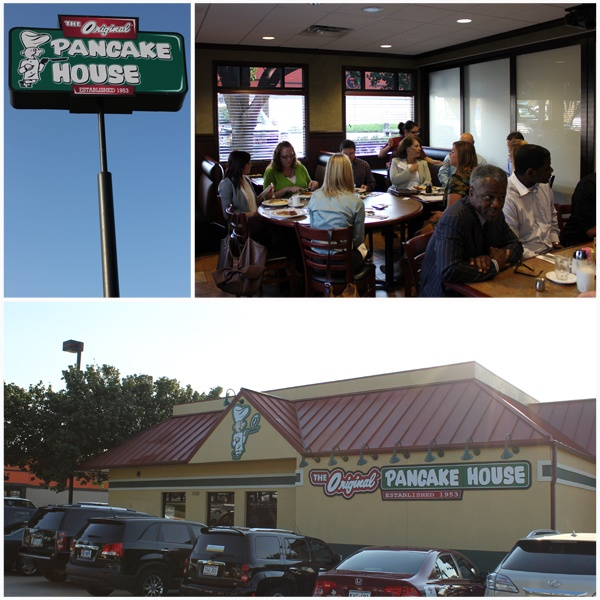 Grapevine Chamber of Commerce New Member Breakfast at The Original Pancake House located at 1505 William D. Tate Ave. in Grapevine, Texas.