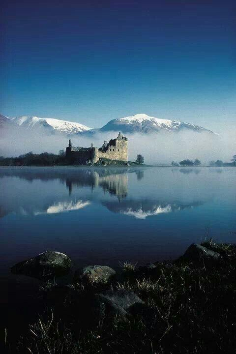 Kilchurn Castle on Loch Awe, Scotland                                                                                                                                                                                 More