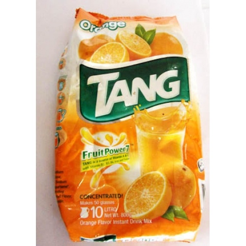 Tang: The explosion of orange taste is like nothing I have ever felt before. Tang has been with me during all of my greatest moments. - Dezi, Canada