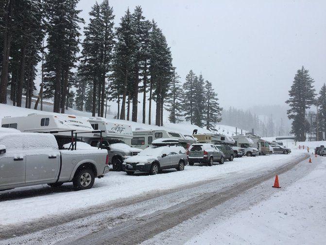 Mt Hood Meadows Ski Lot Rv Parking Wealwayswander Com Ski Park Skiing Park