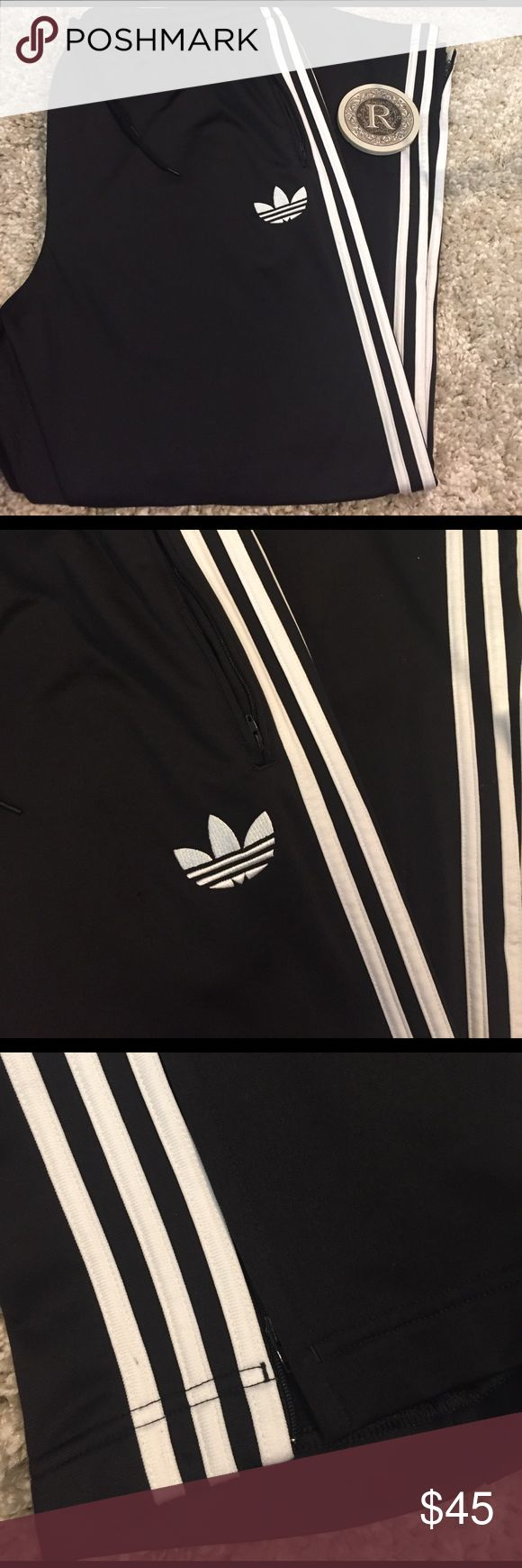 Adidas Sweatpants Joggers Black and white jogger pants Adidas Pants Sweatpants & Joggers