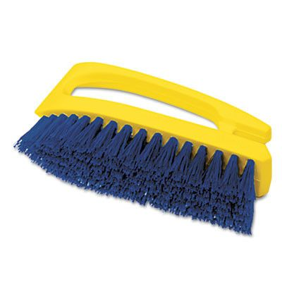BRUSH,SCRUB,IRON SHP HNDL
