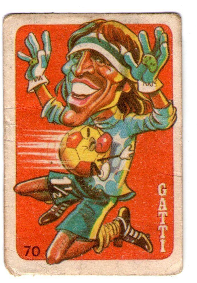 Hugo Gatti - Boca Jrs #70 - 1979