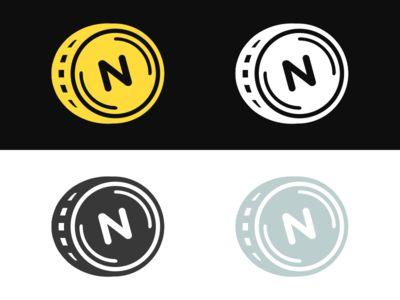 Dribbble - Personal Logo by Nicole Vandemosselaer