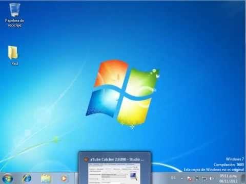 Compartir carpetas en Windows 7 - YouTube