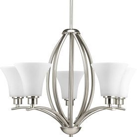 Progress Lighting Joy 5-Light Brushed Nickel Chandelier