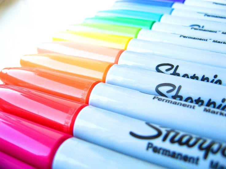 sharpies. love them!!