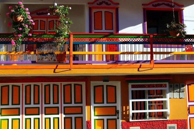 Casas de Antioquia.