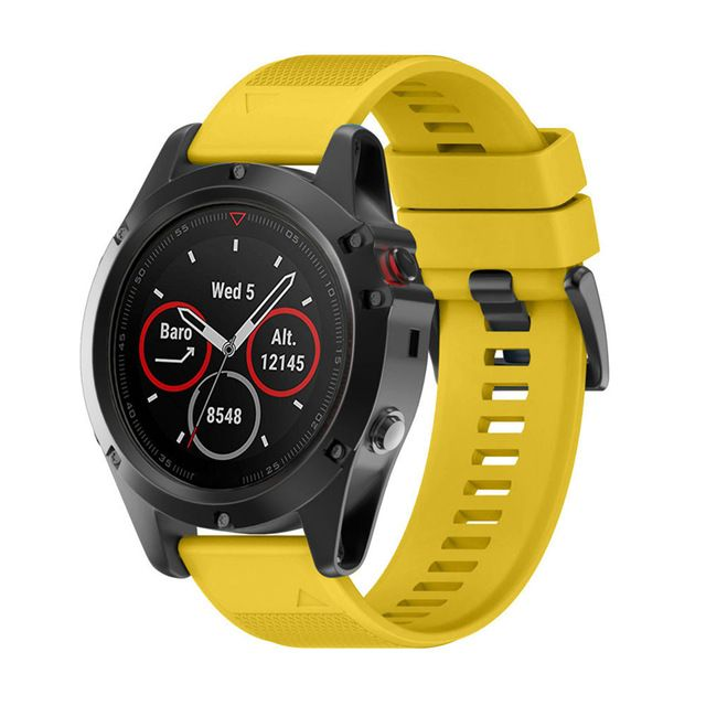New Price $7.60, Buy Smart Watch 26MM Silicagel Soft Quick Release Kit Band Strap For Garmin Fenix 5X GPS Watches Drop Shipping Futural Digital JUN23