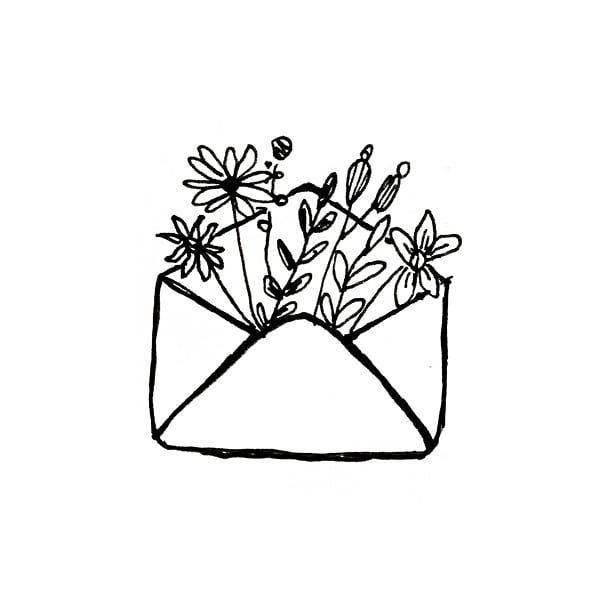 Blume kritzelt ??. . . #doodles #flowerdoodles #bulletjournal #bujoideas #minimalistdoodles #bujodoodles