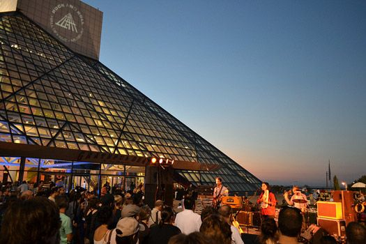 Rock & Roll Hall of Fame, Cleveland, Ohio.