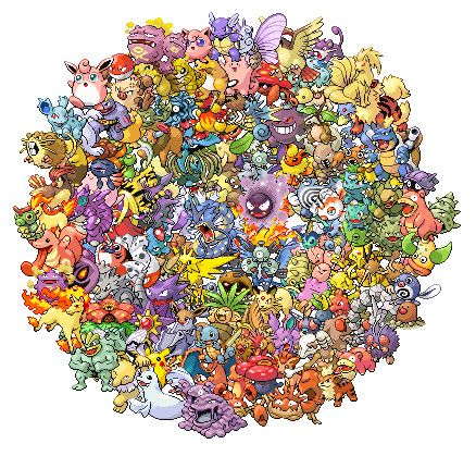 All 151 pokemon cross stitch pattern pdf No011 by coinchantal, $6.99
