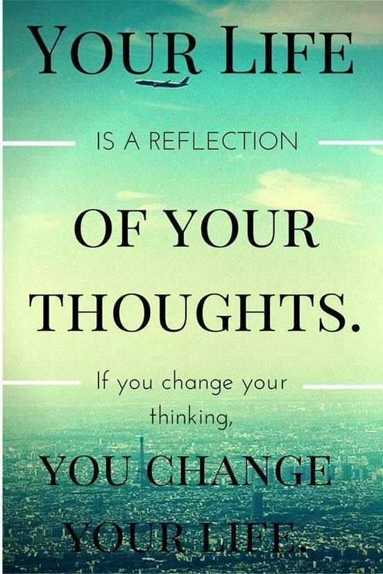 Your Life Is A Reflection. Motivational Positive Quotes
