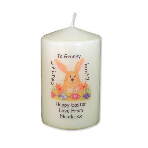 29 best easter gift ideas not just chocolate images on pinterest easter gift ideas personalised easter bunny candle easter gift 899 negle Gallery