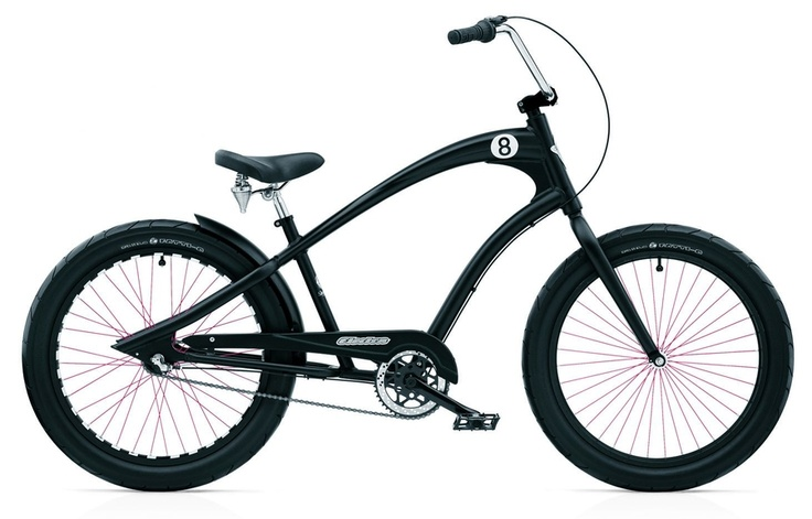 Electra Bicycle - Chopper Cruiser... interesting design.
