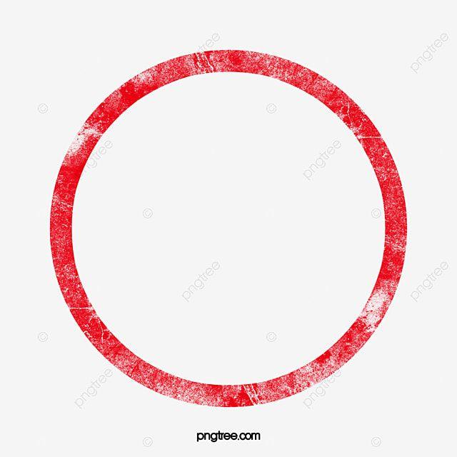 Gambar Sempadan Bingkai Clipart Rangka Lingkaran Merah Png Dan Psd Untuk Muat Turun Percuma In 2021 Frame Clipart Frame Border Design Clip Art