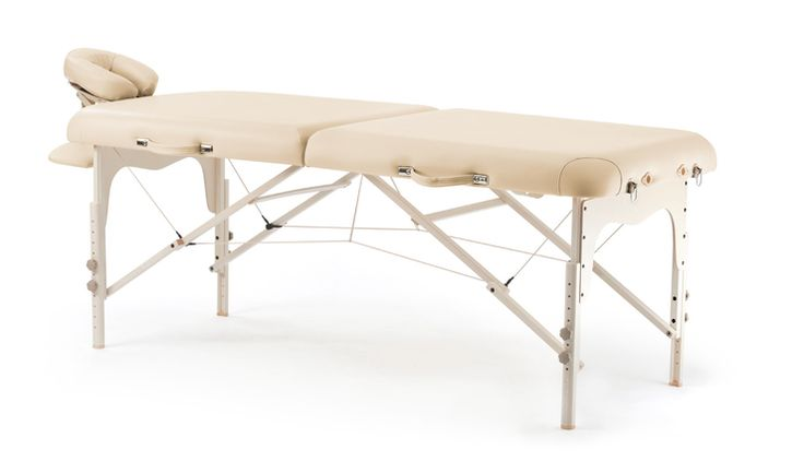 Faltbare Massageliege & Massagebank: Klappliege Comfort - Falkner Massagetische
