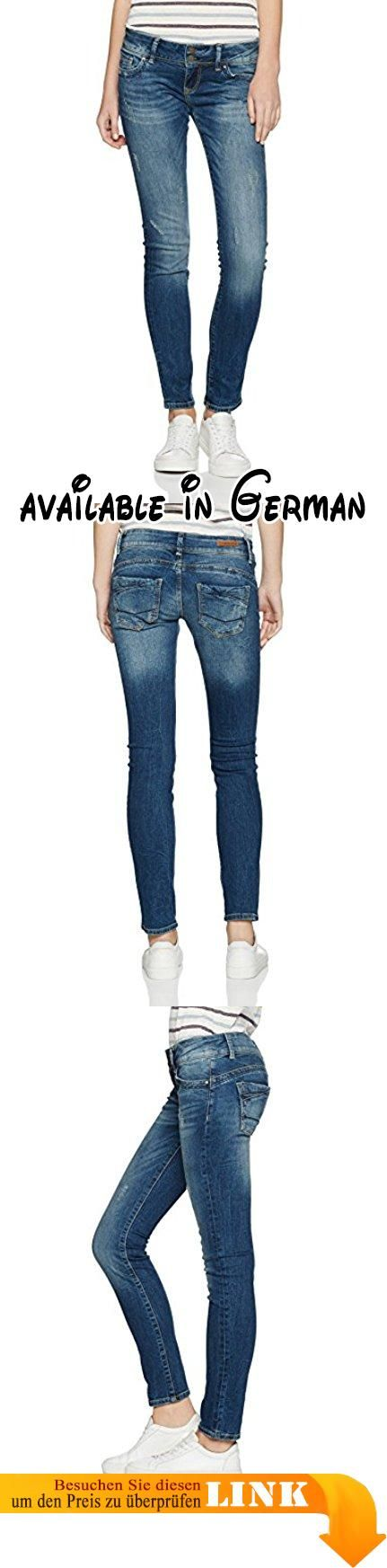 Cross Jeans Damen Skinny Jeans Melissa Blau (Dirty Blue 126), W30/L34 (Herstellergröße:30/34). figurbetonende Skinny Damenjeans. Weicher, stretchiger Denim #Apparel #PANTS