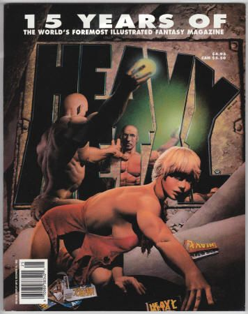 HEAVY METAL - 15 YEARS OF HEAVY METAL, Softback, As New (NM using Comic Book grading), December 1992, Volume 6, #4 in the Special Edition series, Heavy Metal, Richard Corben cover art, $19