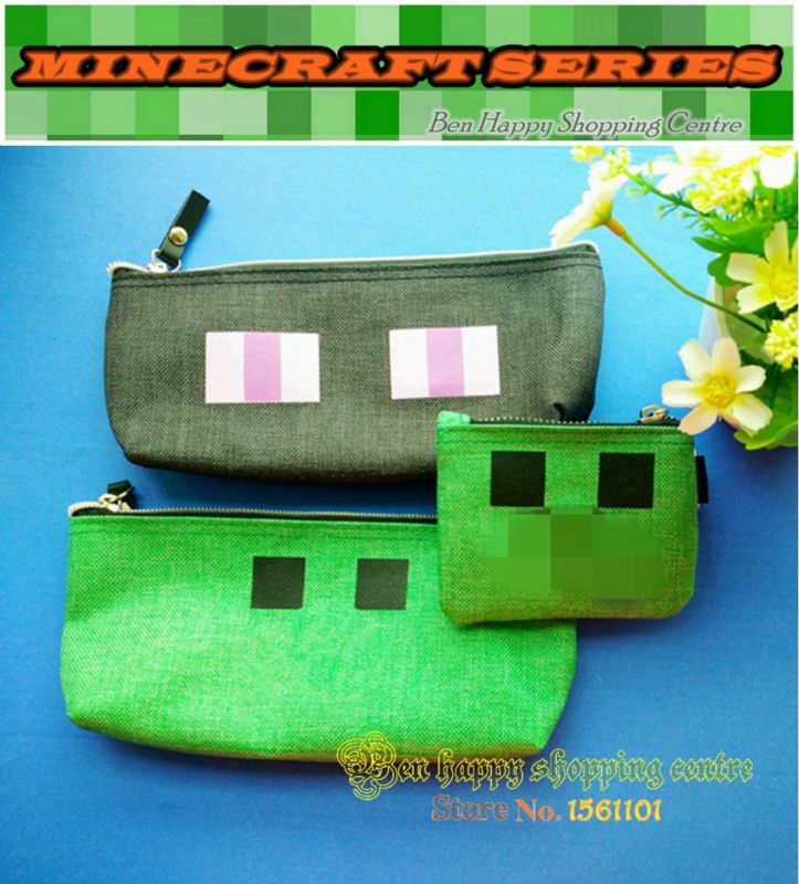 Hot Minecraft Pencil Case toy ,JJ Creeper  Enderman Pencil case model ,JJ Creeper coin purse . Christmas Gift-in Action & Toy Figures from Toys & Hobbies on Aliexpress.com | Alibaba Group