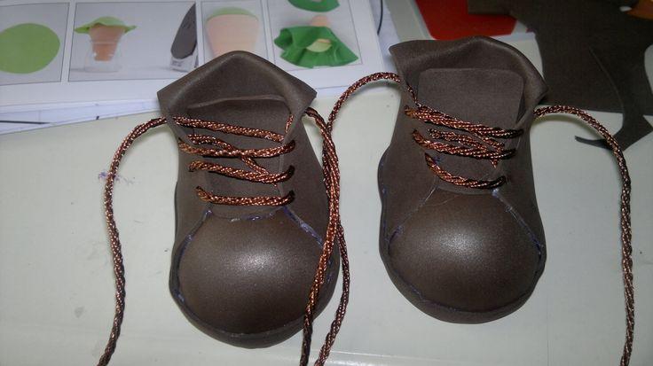 las botas de varias fofuchas