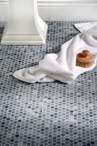 Pennyrounds Greystoke New Ravenna Possible Bathroom Floor Tiles