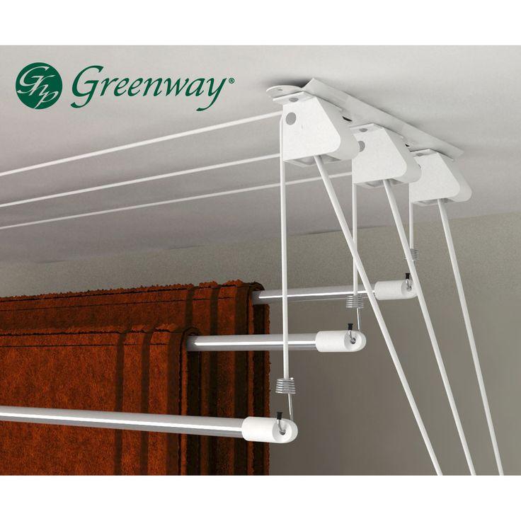 Greenway Laundry Lift Retractable Drying Rack | Wayfair