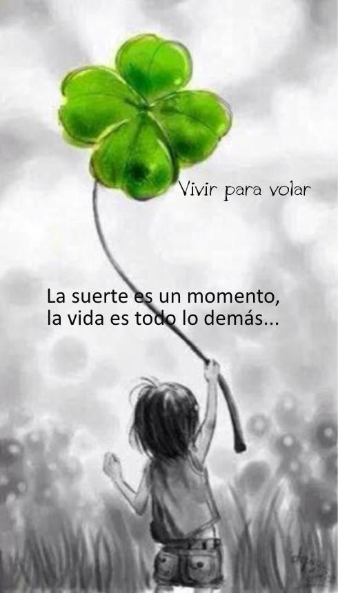 〽️ la suerte es un momento la vida es todo lo demás...  Ideas Negocios Online para www.masymejor.com