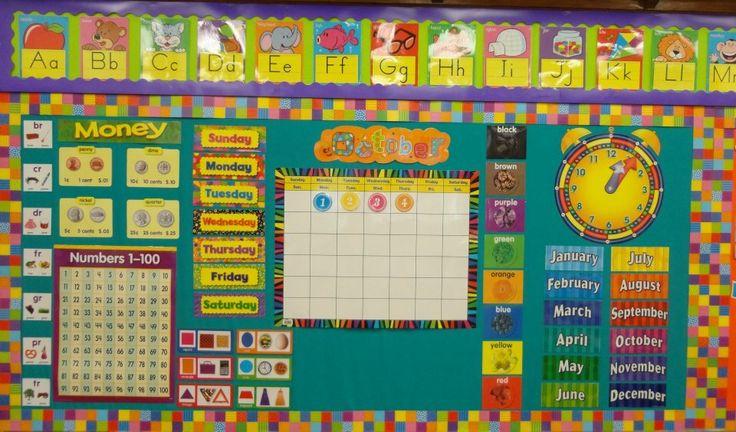 Kindergarten Calendar Displays : Best calendar images on pinterest classroom decor