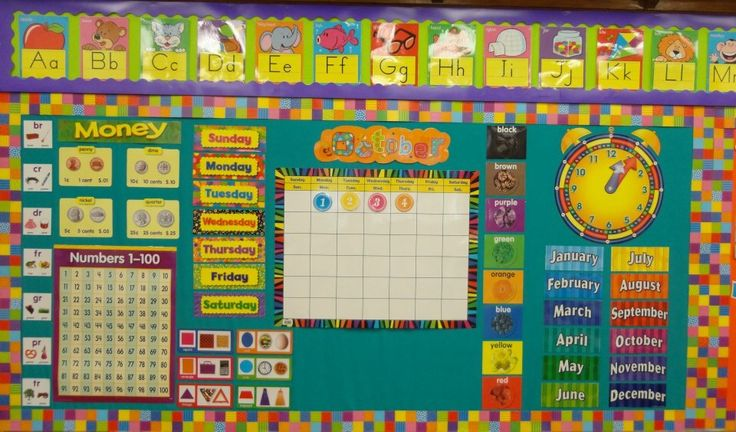 Kindergarten Classroom Calendar Wall : Kindergarten calendar classroom management and set up