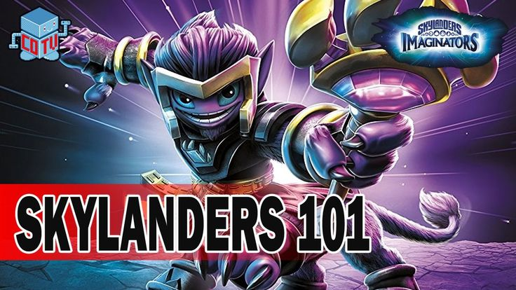 Skylanders 101 MYSTICAT