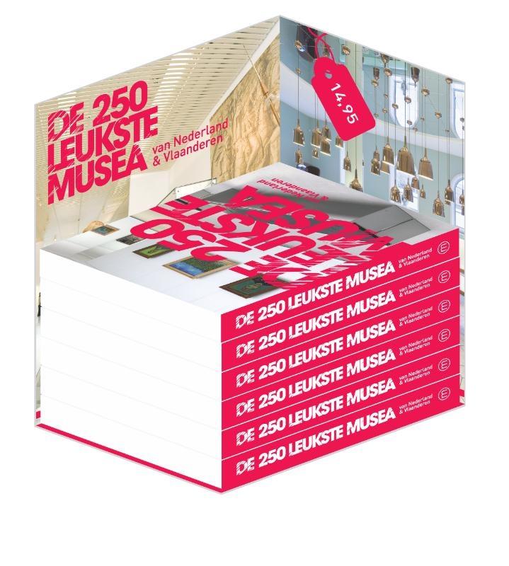 Maak kans op het boekje 'De 250 leukste musea'!
