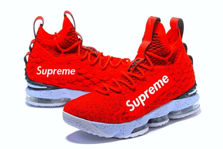 sports shoes d9100 f2b07 Lebron Supreme    LOGO  in 2019   Supreme shoes, Supreme clothing, Shoes