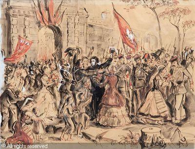 UNIECHOWSKI Antoni - Adam Mickiewicz w Mediolanie