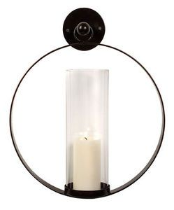 modern wall sconces for candles round hurricane wall sconce candle holder