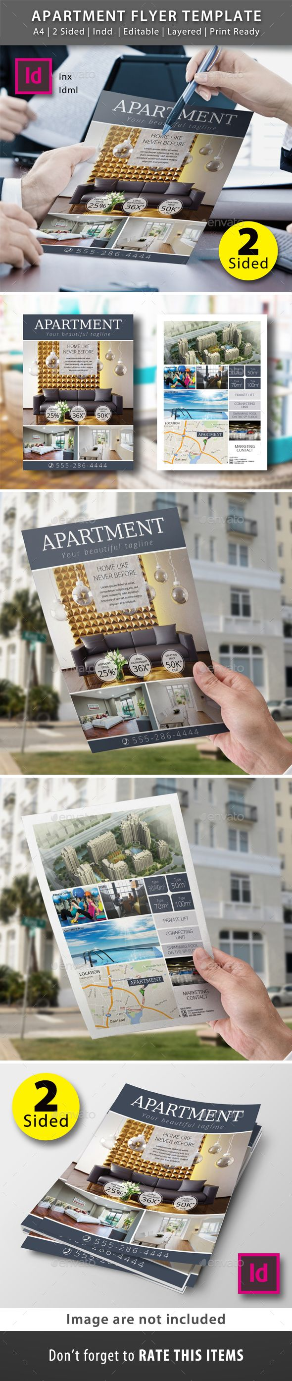 sided property flyer template flyers flyer template and templates apartment flyer template commerce flyers