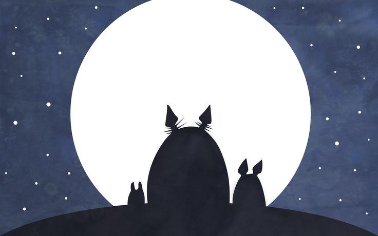 Free download Studio Ghibli Neighbor Totoro Series Ova Character Wallpaper - PageResource.com