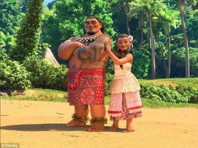 Dream come true: Nicole's latest project will see her voice Sina (right), a character in t...